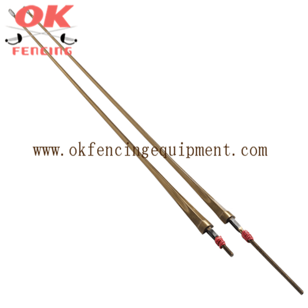 Epee wired blade Golden