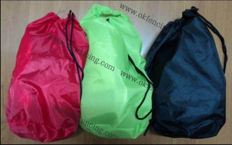 One Stop Shopping Of Colorful Fencing Bags With Personally